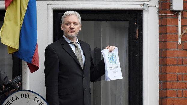 Julian Assange fundador de WikiLeaks. (EFE)