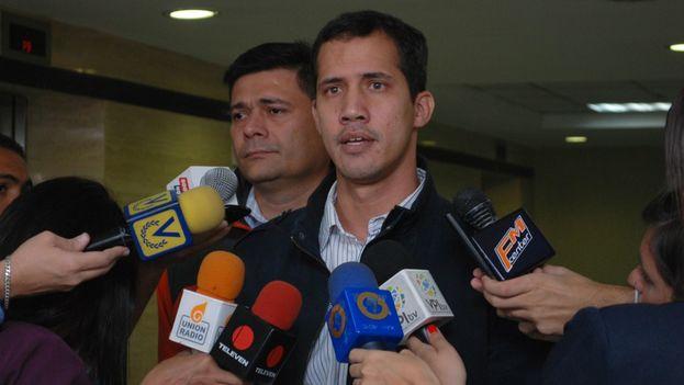 Juan Guaidó, presidente de la Comisión de Contraloría del Legislativo. (lapatilla.com)