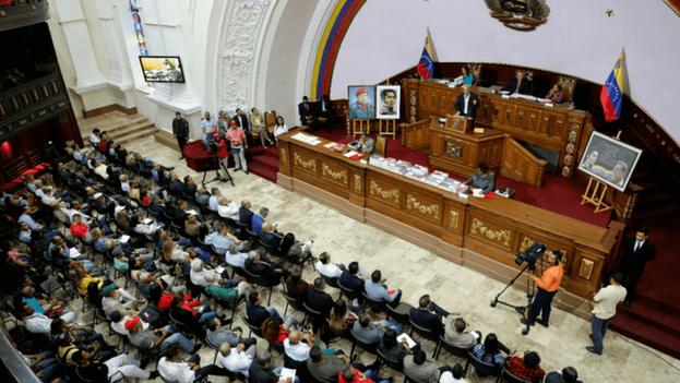 Juan Guaidó dijo que ninguna de las decisiones adoptadas por la Constituyente tiene validez ni reconocimiento. (Vicepresidencia Venezuela)