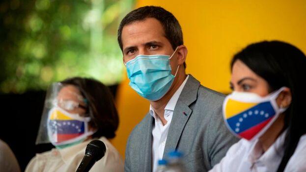 En la imagen, el líder opositor venezolano Juan Guaidó. (EFE/Rayner Peña R./Archivo)