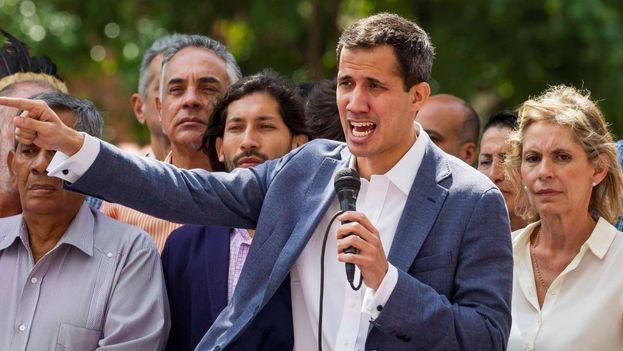 Juan Guaidó forma parte de un brillante grupo de sacrificados ex líderes estudiantiles. (EFE)