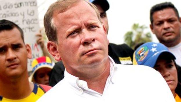 El opositor Juan Pablo Guanipa fue elegido gobernador del estado de Zulia el pasado 15 de octubre. (@JuanPGuanipa)