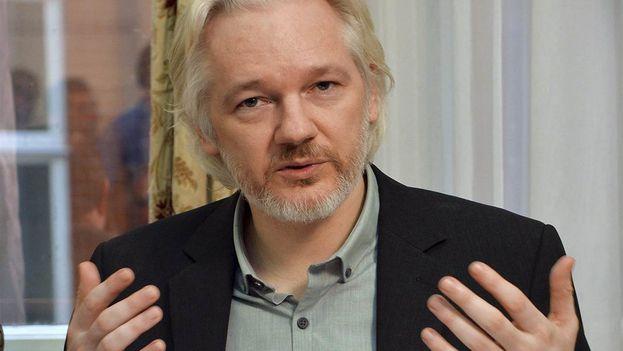 Julian Assange cumplirá este verano cinco años encerrado en la embajada de Ecuador en Londres para evitar la extradición a Suecia. (Twitter)
