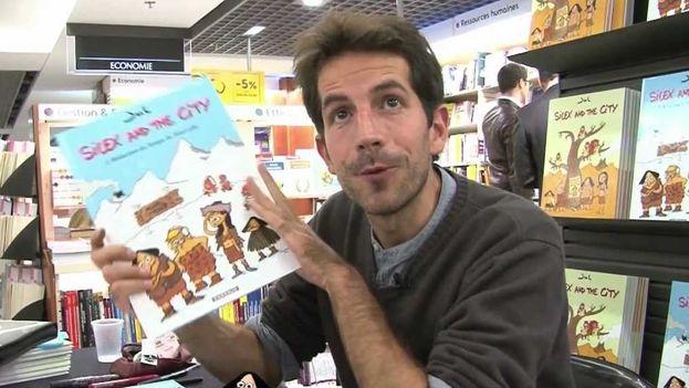 Julien Berjeaut durante una entrevista en Francia. (Youtube)