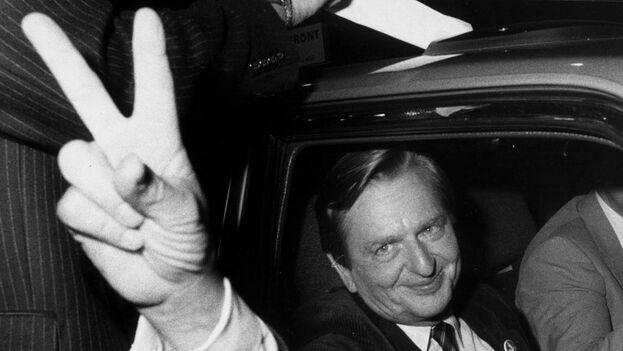 La Justicia sueca señala a un responsable del crimen contra su primer ministro Olof Palme 34 años después. (EFE)