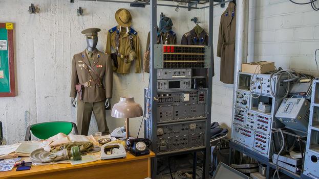 El despacho en la última planta del hotel Viru desde el que el KGB espiaba a los huéspedes. (J. Isla)