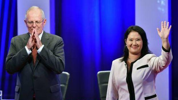 Keiko Fujimori y Pedro Kuczynski (CC)