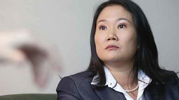 Keiko Fujimori, candidata a la presidencia de Perú. (EFE)