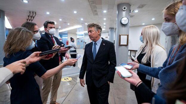 El senador republicano por Kentucky Rand Paul, en Washington, EE UU. (EFE/Jim Lo Scalzo)