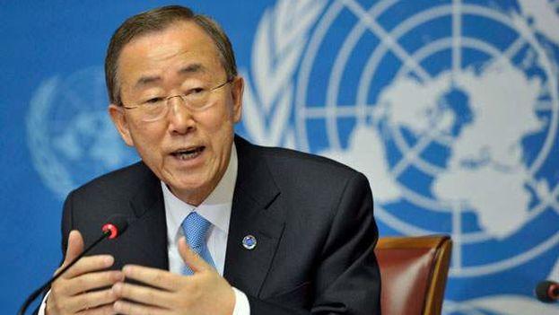 Ban Ki-Moon, Secretario General de las Naciones Unidas (ONU)