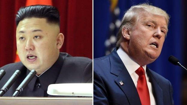 Kim Jong-un y Donald Trump son capaces de llevar la retórica hasta el límite del conflicto. (EFE)