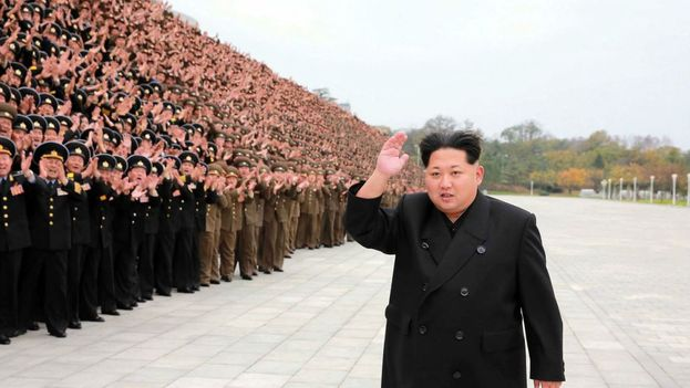 Kim Jong-un, dirigente del Partido Comunista (único) norcoreano. (Archivo)