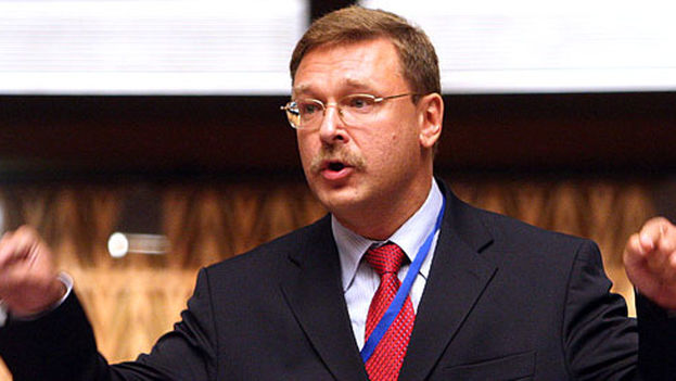 Konstantin Kosachev, presidente de la Asamblea Federal rusa