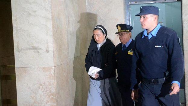 Kosaka Kumiko, una monja católica de origen japonés, fue imputada por la Fiscalía de Argentina por su supuesta implicación en un sonado caso de abusos sexuales. (EFE)