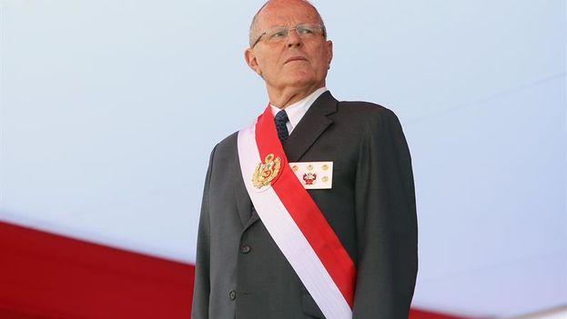 Kuczynski recibió de Odebrecht más de 782.000 dólares entre 2004 y 2007, cuando fue ministro de Economía y primer ministro del Gobierno de Alejandro Toledo (2001-2006). (EFE)