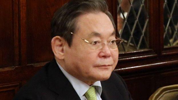 Lee Kun Hee, presidente del Grupo Samsung. (Wikicommons)