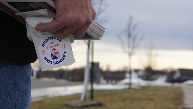 LULAC reunió a varios aspirantes demócratas para hablar sobre asuntos de interés para el casi medio millón de latinos habilitados para votar en Nevada el próximo día 22. (LULAC)