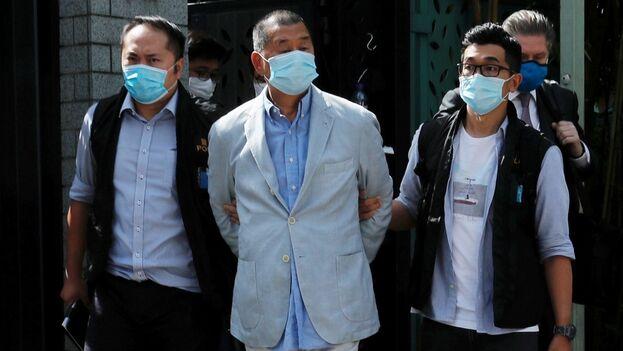 Lai ha sido detenido en otra ocasión por acusciones similares y también enfrenta cargos por delitos económicos. (EFE)
