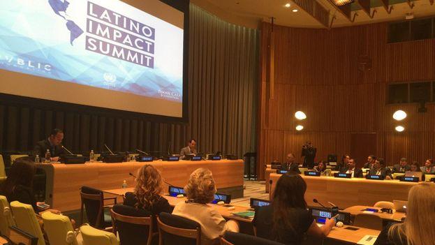 El Latino Impact Summit se celebró este jueves en la sede de Naciones Unidas en Nueva York. (14ymedio)