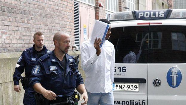 La fiscal del caso, Leena Koivuniemi, aún no ha decidido qué tipo de penas va a solicitar para cada acusado. (Aamulehti)