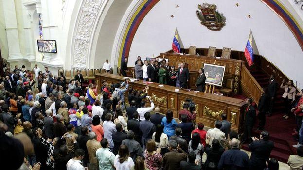 """El Legislativo no reconocerá """"no solo el nuevo nombramiento de Diosdado, sino de todos los que hacen vida en esa írrita ANC"""". (PSUV)"""