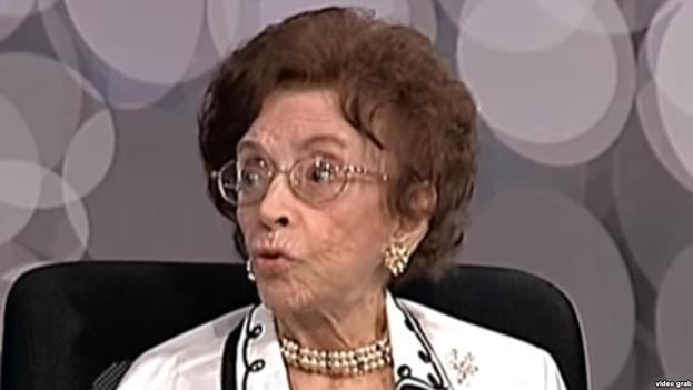 Leonor Ferreira durante una entrevista. (Youtube)
