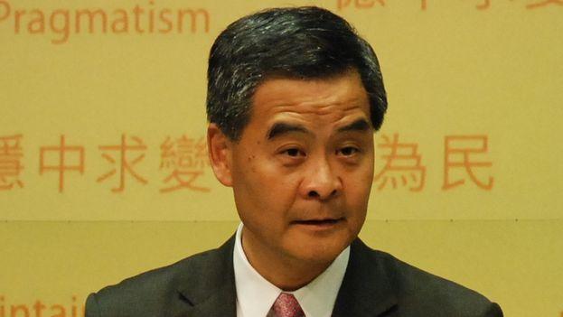 Cy Leung, jefe de Gobierno en Hong Kong. (CC)
