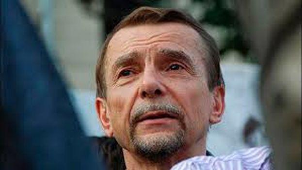 Lev Ponomariov cumple 16 días de arresto administrativo por llamar a participar en una protesta no autorizada. (Captura)