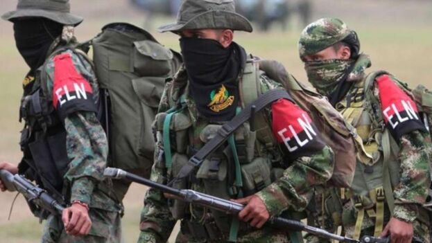 El informe asegura que el Ejército de Liberación Nacional de Colombia ha llenado el vacío de las FARC. (EFE)