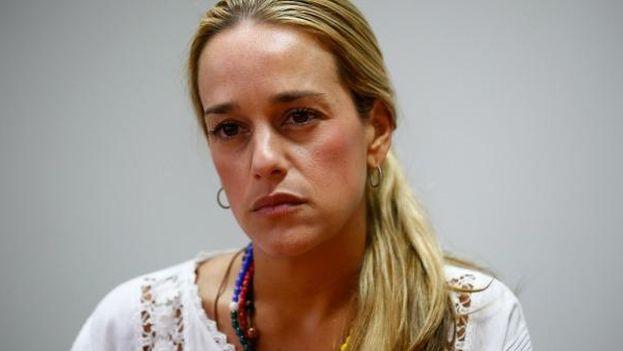 Lilian Tintori siente que su casa se convirtió en una cárcel y que su familia vive en conjunto el arresto domiciliario del político. (EFE)
