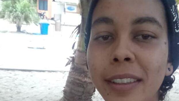 Lis, durante su estancia en enero de 2021 en el municipio fronterizo de Necoclí, en el departamento colombiano de Antioquia. (Cortesía)