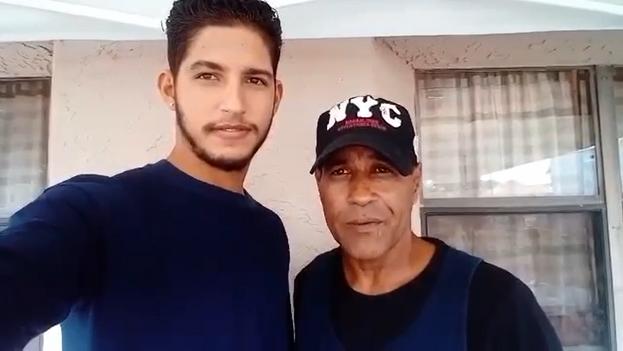 Llorente y su hijo cruzaron hacia EE UU por la ciudad mexicana de Nuevo Laredo. (14ymedio)