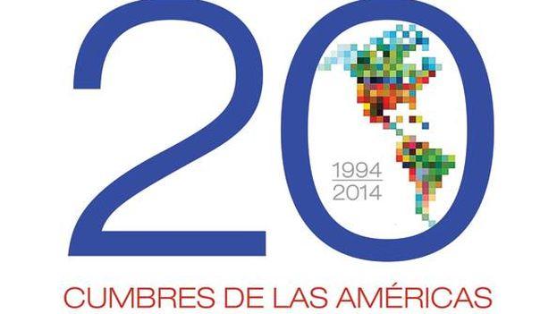 Logo de la Cumbre de las Américas.
