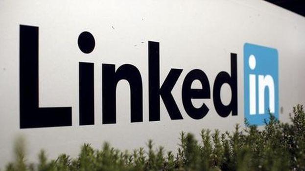 Logo de la red social Likedin, bloqueada por el Kremlin. (EFE)