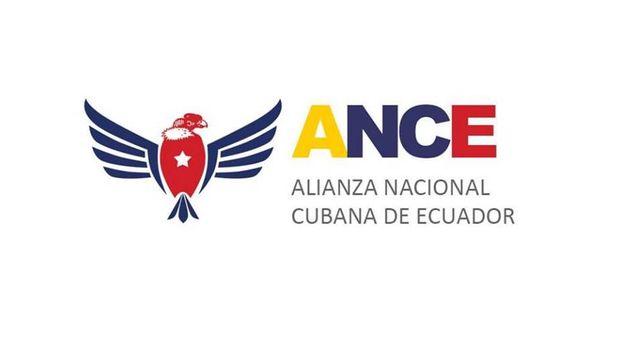 Logotipo de la Alianza Nacional Cubana de Ecuador (Facebook)