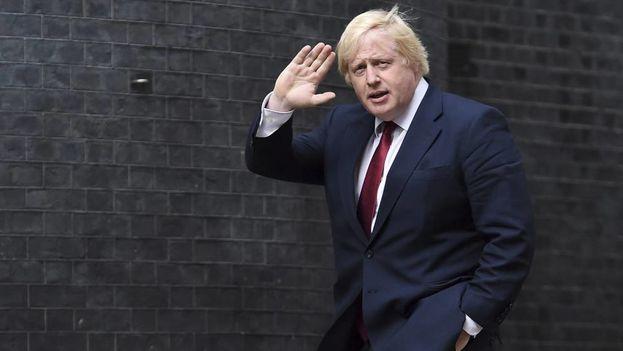 El exalcalde de Londres y ministro de Exteriores británico, Boris Johnson, que dimitió este lunes ha sido uno de los mayores defensores del 'brexit' duro. (EFE)