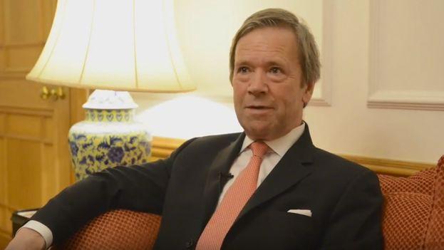 El Lord Mayor de la City de Londres, Jeffrey Mountevans, embajador para la industria de servicios financieros del Reino Unido. (Youtube)