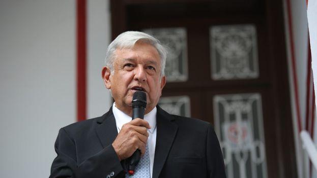 López Obrador anunció este miércoles también que se reunirá próximamente con Mike Pompeo. (@PartidoMorenaMx)