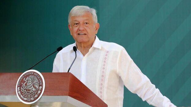 López Obrador habló en Veracruz sobre su estrategia de seguridad. (@CuitlahuacGJ)