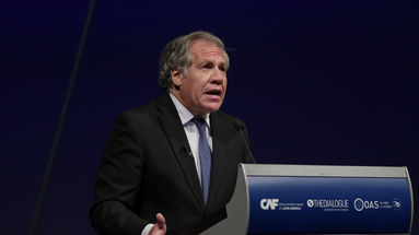 """El secretario general de la OEA Luis Almagro prometió que acabará con la """"impunidad"""" del Gobierno cubano. (EFE)"""