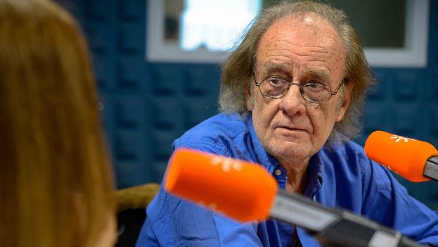 Luis Eduardo Aute en una entrrevista en junio de 2016 en Canal Sur Radio. (Flickr)