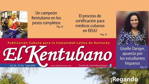 """Luis Fuentes, un ingeniero ambiental que desde hace siete años publica el periódico mensual """"El Kentubano"""". (elkentubano.com)"""