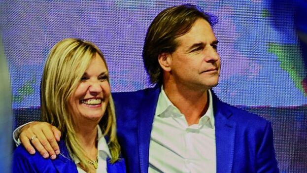 Luis Lacalle Pou y Beatriz Argimón forman el tándem que ha conquistado el poder en Uruguay en estas últimas elecciones.