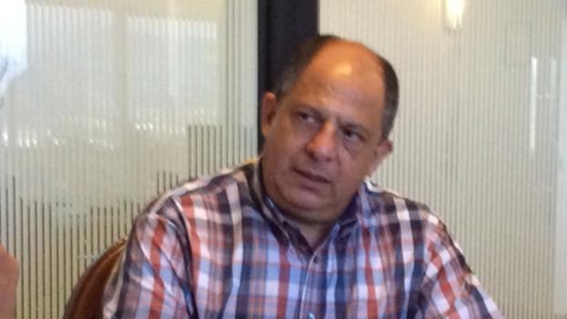 Presidente de Costa Rica, Luis Guillermo Solís. (14ymedio)