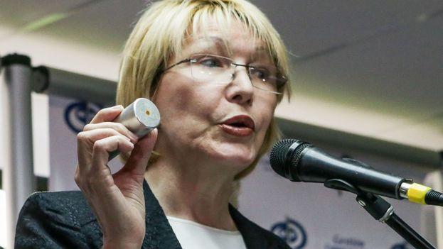 """La fiscal general, Luisa Ortega Díaz, advirtió que """"imponer la Constituyente es un error y pudiera abrir las puertas a más violencia"""". (EFE)"""