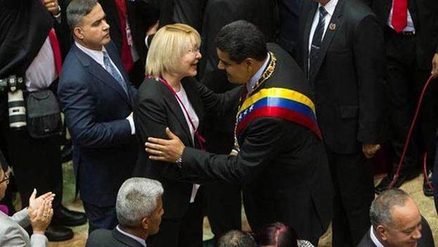Luisa Ortega, que impulsó en 2014 centenares de investigaciones contra opositores como Leopoldo López, dice ahora no reconocer al chavismo. (EFE)