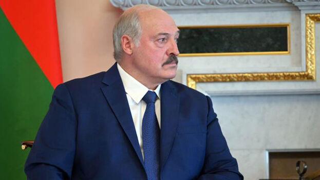 Lukashenko dijo sí ordenó reprimir sin disparos el estallido tras las elecciones presidenciales del 9 de agosto de 2020. (EFE)