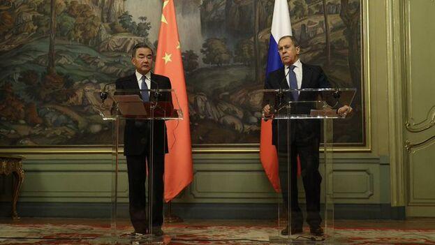 Lavrov sostendrá negociaciones con el canciller de China, Wang Yi, para abordar las perspectivas de desarrollo de las relaciones entre ambos. (mae_Rusia)