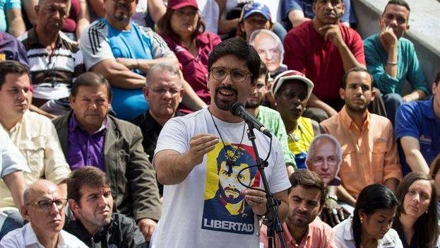 El diputado de la MUD Freddy Guevara ha pedido a sus conciudadanos que se movilicen a partir de las 10.00 . (EFE)