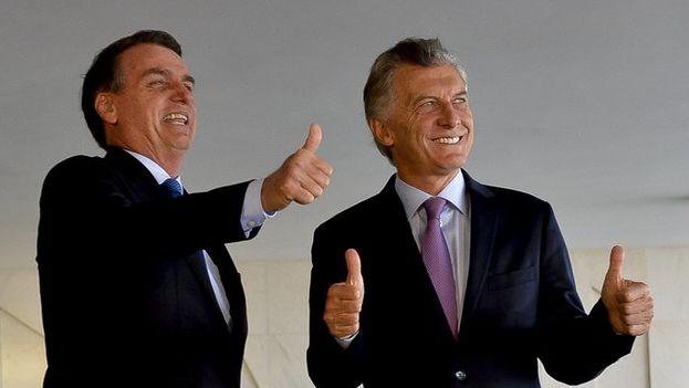Macri y Bolsonaro se mostraron abiertos a una intensa colaboración en materia económica. (Mauricio Macri)
